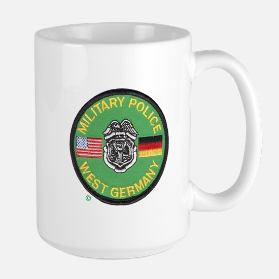 U S Military Police West Germany Large Mug