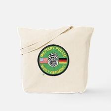 U S Military Police West Germany Tote Bag