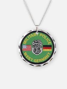 U S Military Police West Germany Necklace