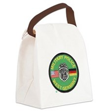 U S Military Police West Germany Canvas Lunch Bag