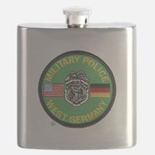 U S Military Police West Germany Flask