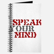 SPEAK YOUR MIND Journal