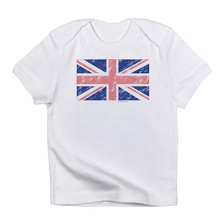 UK Flag Vintage Infant T-Shirt
