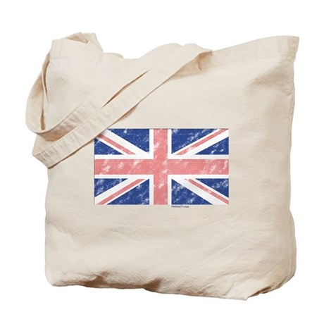 UK Flag Vintage Tote Bag