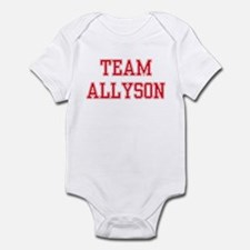 TEAM ALLYSON  Infant Bodysuit