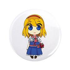"""Chibi Alice 3.5"""" Button"""