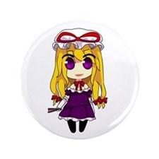 "Chibi Yukari 3.5"" Button"