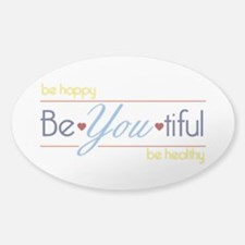 BeYOUtiful Sticker (Oval 10 pk)