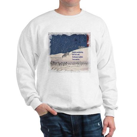 Hiroshige and Haiku Sweatshirt