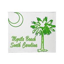 Myrtle Beach 4 Throw Blanket
