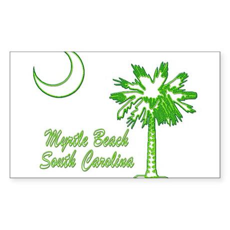 Myrtle Beach 4 Sticker (Rectangle)