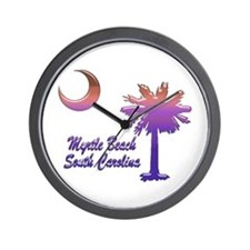 Myrtle Beach 6 Wall Clock