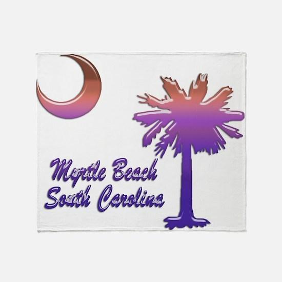 Myrtle Beach 6 Throw Blanket