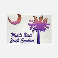 Myrtle Beach 6 Rectangle Magnet
