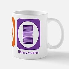 Eat Sleep Library Mug