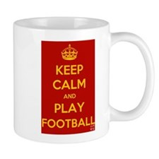 Keep Calm Play Football Mug