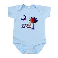 Myrtle Beach 8 Infant Bodysuit