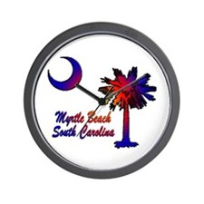 Myrtle Beach 8 Wall Clock