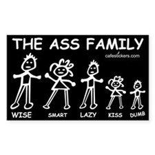 The Ass Family Decal
