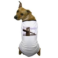 Brooklyn Bridge (Morning) Dog T-Shirt