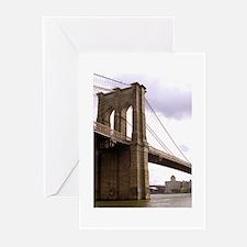 Brooklyn Bridge (Morning) Greeting Cards (Pk of 10