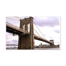 Brooklyn Bridge (Morning) Rectangle Car Magnet