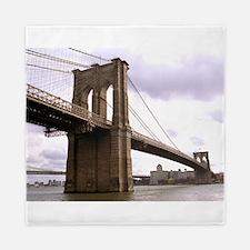 Brooklyn Bridge (Morning) Queen Duvet