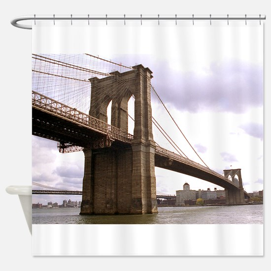 Brooklyn Bridge (Morning) Shower Curtain