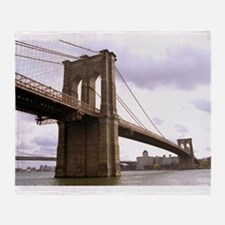 Brooklyn Bridge (Morning) Throw Blanket