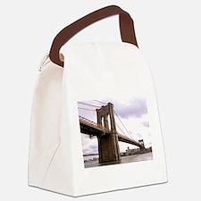 Brooklyn Bridge (Morning) Canvas Lunch Bag