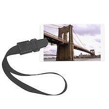Brooklyn Bridge (Morning) Luggage Tag