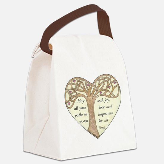 Blessing Tree Canvas Lunch Bag