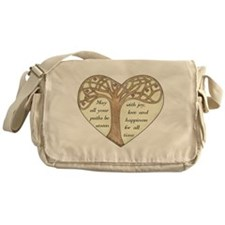 Blessing Tree Messenger Bag