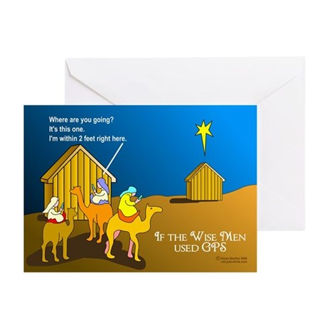 Wise Men Christmas Greeting Cards (Pk of 10)