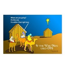 Wise Men Christmas Postcards (Package of 8)