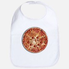 Pizza Face Bib