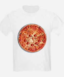 Pizza Face Kids T-Shirt