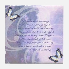 Provence Prayer Mother's Day Tile Coaster