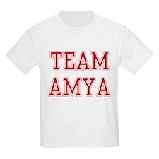 TEAM AMYA  Kids T-Shirt