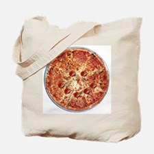 Pizza Face Tote Bag