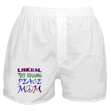 LIBERAL PEACE MOM Boxer Shorts