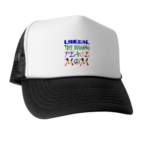 LIBERAL PEACE MOM (RB) Trucker Hat