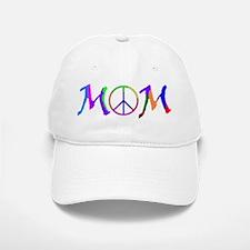 Peace Sign Mom Baseball Baseball Cap