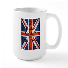 Keep Calm I'm British Mug