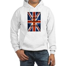 Keep Calm I'm British Hoodie