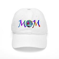 PEACE ON EARTH MOM Baseball Cap