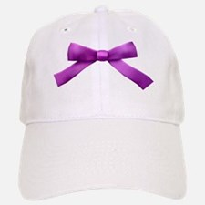 Purple Bow Tie Baseball Baseball Cap
