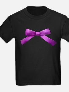Purple Bow Tie T