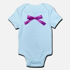 Purple Bow Tie Infant Bodysuit