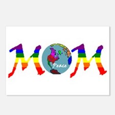 Peace on Earth Mom (RB) Postcards (Package of 8)
